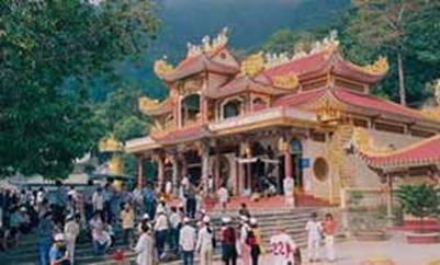 Điện thờ Linh Sơn Thánh Mẫu (Điện Bà)  – Ảnh: nguồn cadao.org