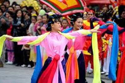 Lễ hội Linh Sơn Thánh Mẫu – Ảnh: nguồn hoahoctro.vn