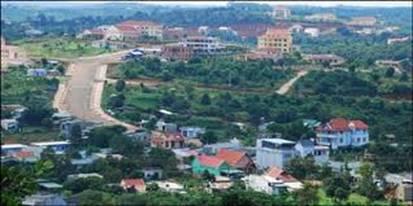 Một góc thị xã Gia Nghĩa – Ảnh: nguồn taynguyen24h.com.vn