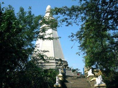 Bảo tháp xá lợi Phật – Ảnh: Trần Quang Diệu (thesaigontimes.vn)