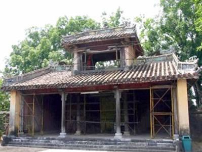 Cung môn lăng Đồng Khánh – Ảnh: Thái Lộc (nguồn vietnamtime.org)