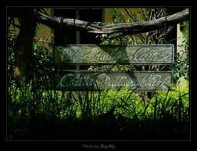 Bảng hiệu Vườn Quốc gia Cát Tiên – Ảnh: nguồn sites.google.com