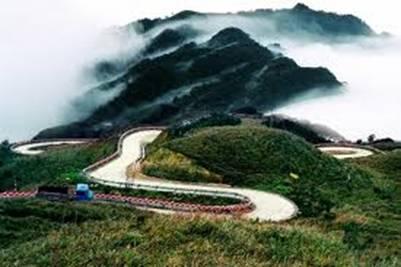 Đường lên Tam Đảo quanh quanh – Ảnh: nguồn nguoiduatin.vn