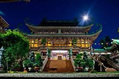 Chánh điện chùa Minh Thành
