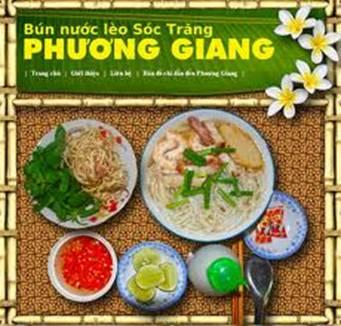 Website bún nước lèo Phương Giang