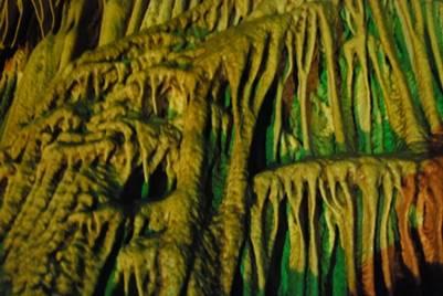 Mysterious in Pu Sam Cap cave