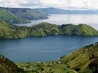 Hồ núi lửa lớn nhất thế giới