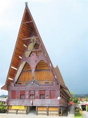 Nhà thờ có kiến trúc địa phương