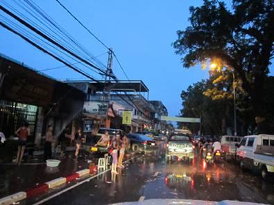 Vientiane thiếu nước