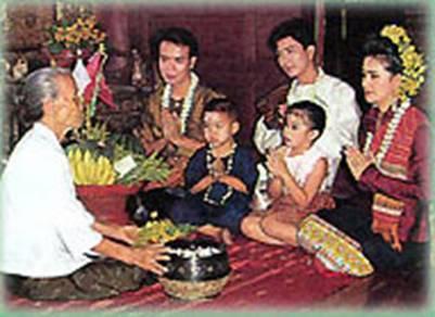 Nghi thức Rot Nam Dam Hua