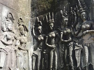 Các vũ công Apsara