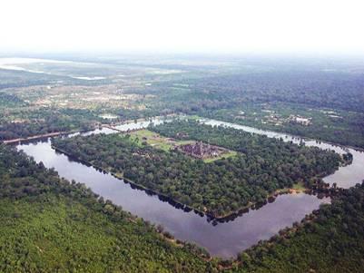 Angkor Wat mô phỏng vũ trụ
