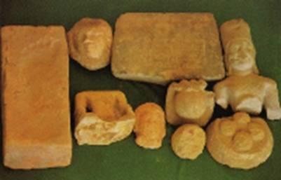 Những hiện vật khai quật