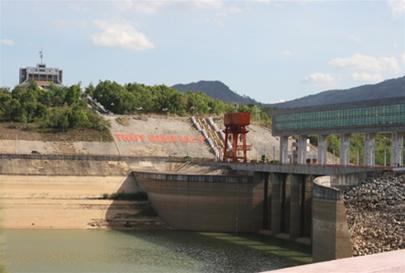 Một góc Nhà máy thủy điện Yaly