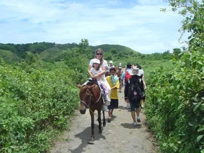cưỡi ngựa lên đỉnh Volcano
