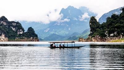 Kỳ thú hồ Na Hang