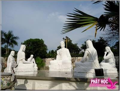 Bộ tượng Đức Phật thuyết pháp
