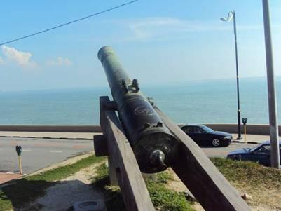 Một góc pháo đài Cornwallis
