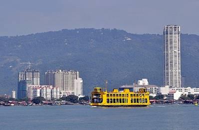 Penang nổi bật với tòa nhà Komtar