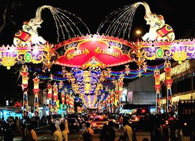 Sắc màu lễ hội Deepavali