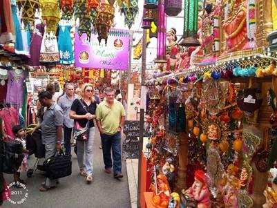 Khu chợ hội Deepavati nhộn nhịp
