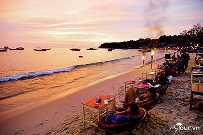 Biển Sihanoukville hấp dẫn