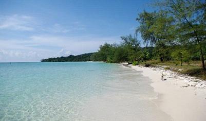 Bãi biển trên đảo Koh Rong