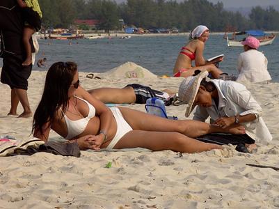 Dịch vụ trên bãi biển Sihanoukville