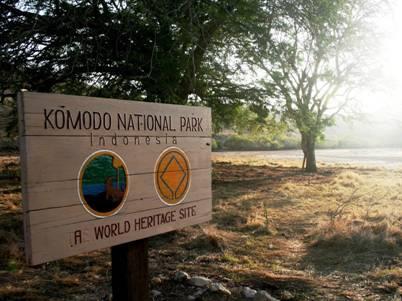 VQG Komodo - di sản thế giới
