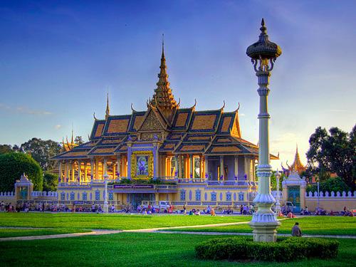 Cung điện Hoàng gia Cambodia