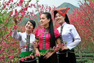 Thiếu nữ Thái Mường Lò
