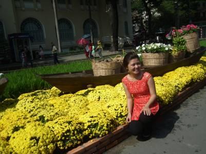 Người đẹp vì hoa, hoa đẹp vì người…