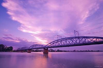 Cầu Ghềnh dẫn vào Cù lao Phố
