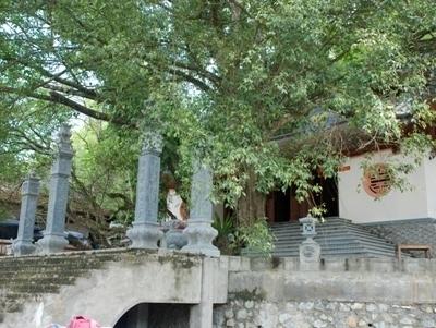 Đền Cấm tại xã Tràng Đà