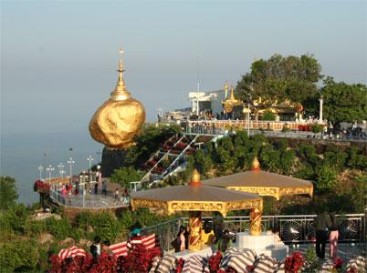 Toàn cảnh chùa núi vàng