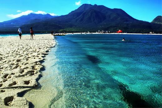 ấn tượng với cát trắng, biển xanh