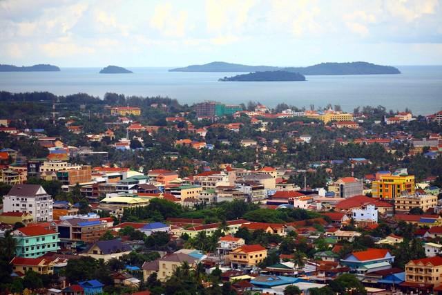 Thành phố biển Sihanoukville