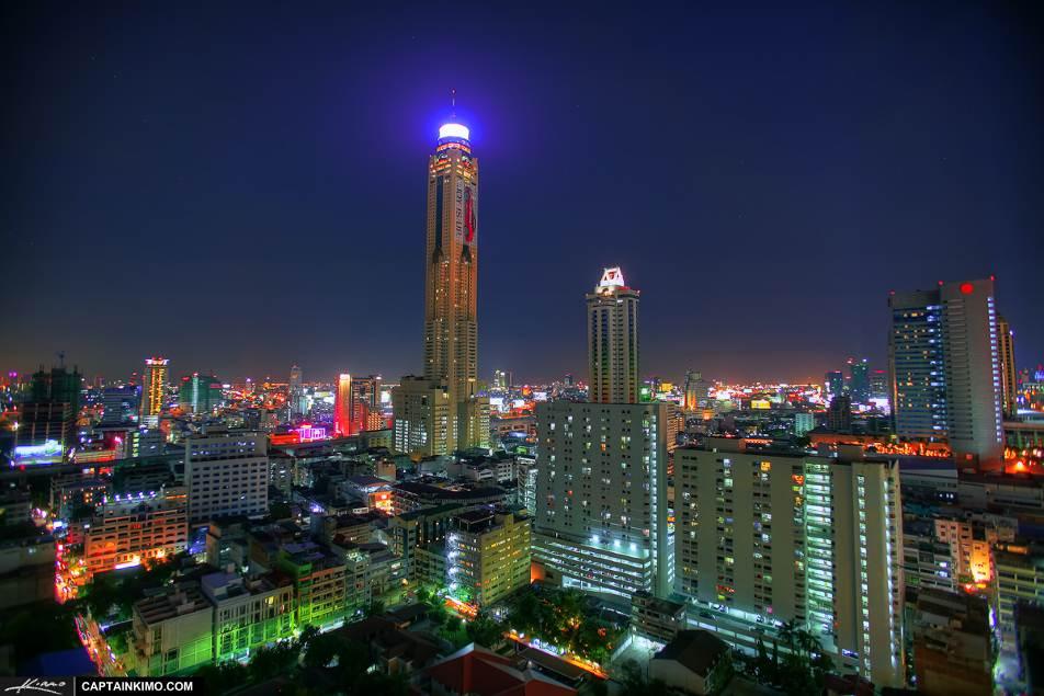 Thành phố Bangkok về đêm