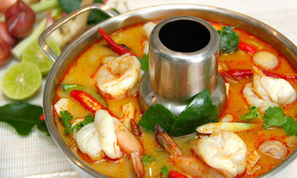 món canh chua cay Thái