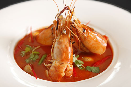 Sự hài hòa trong món canh chua Thái