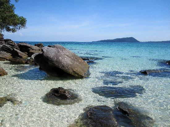 Bãi biển ở Koh Rong