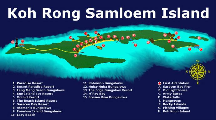 Phác đồ đảo Koh Rong Samloem