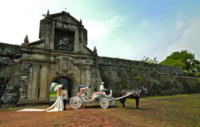 Cổng vào pháo đài Santiago
