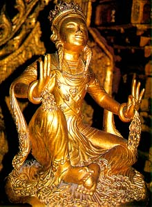 Một trong số những tượng Phật