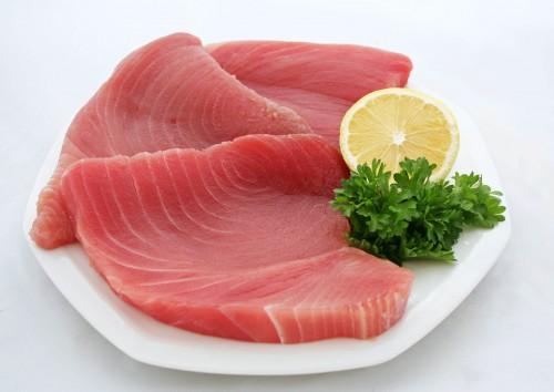 Món cá ngừ sống