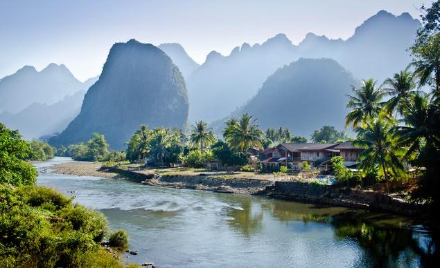 Vang Vieng - non nước hữu tình