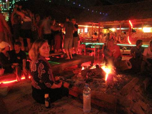 Đêm tại Vang Vieng