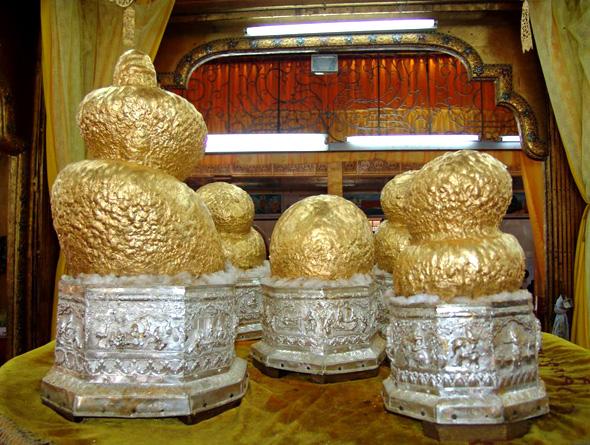 Năm hình tượng Phật