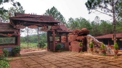 Cổng Đường hầm Điêu khắc