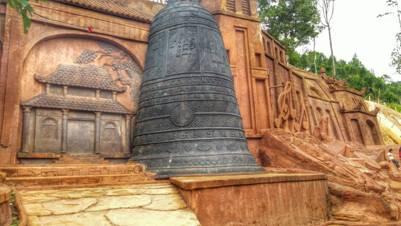 Chùa Linh Sơn với cổ đại chung